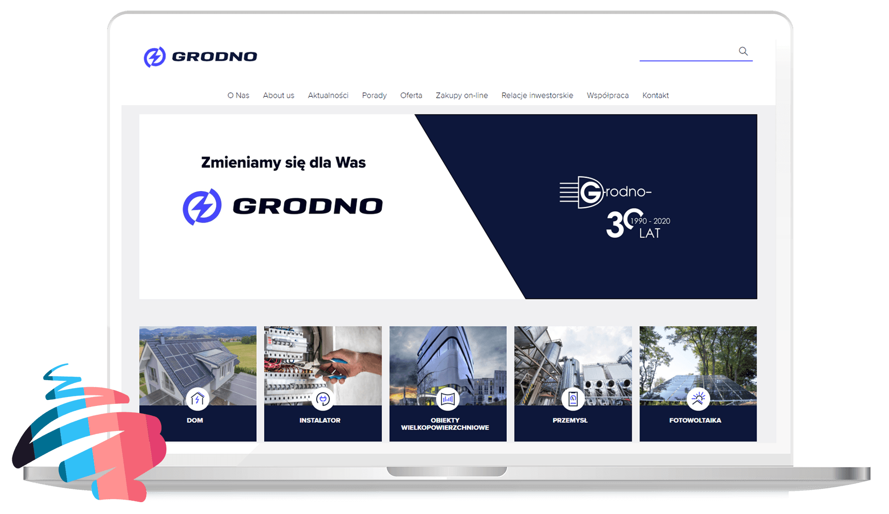 Implementation of PWA for Grodno