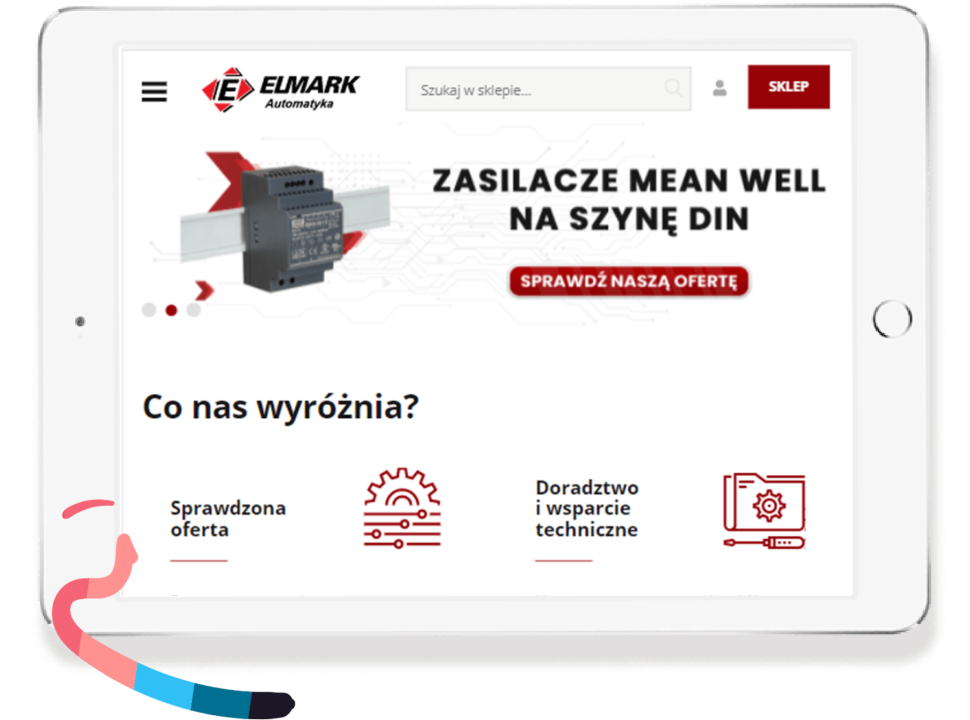 UX support for Elmark