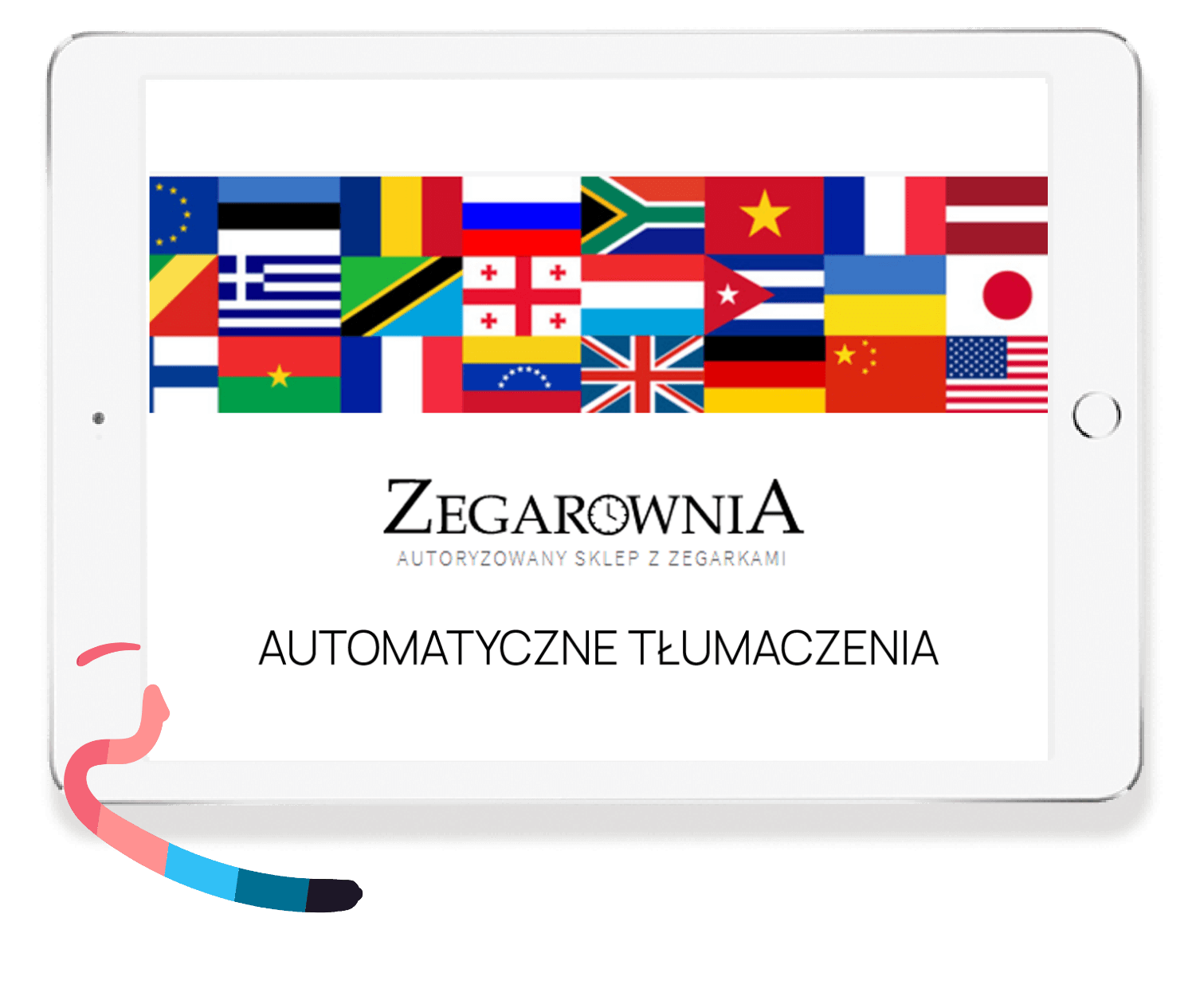 Automatic translation of the opinion into other language versions for Zegarownia
